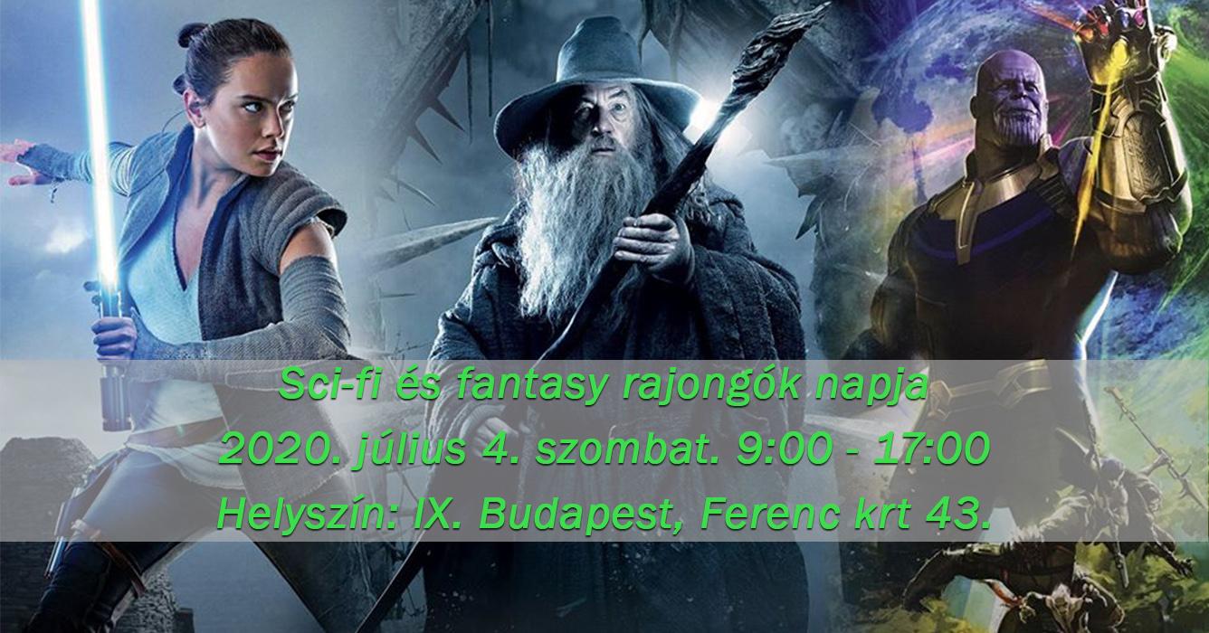Fantasy és képregény nap Budapest